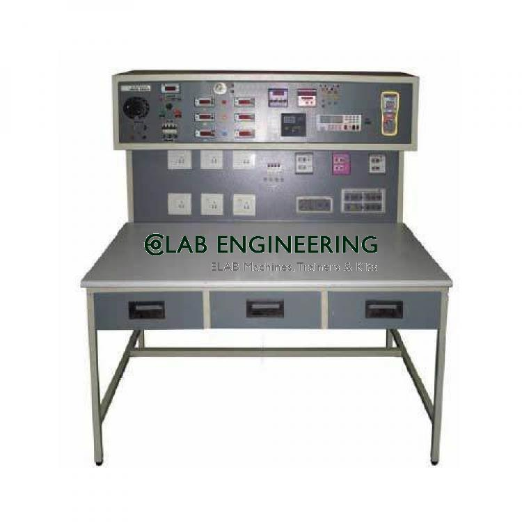 Electronics Metal Workbench - Electronics Workbench Lab