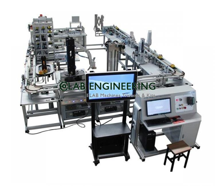 Flexible Automatic Production Line AUTOMATION MACHINES LAB