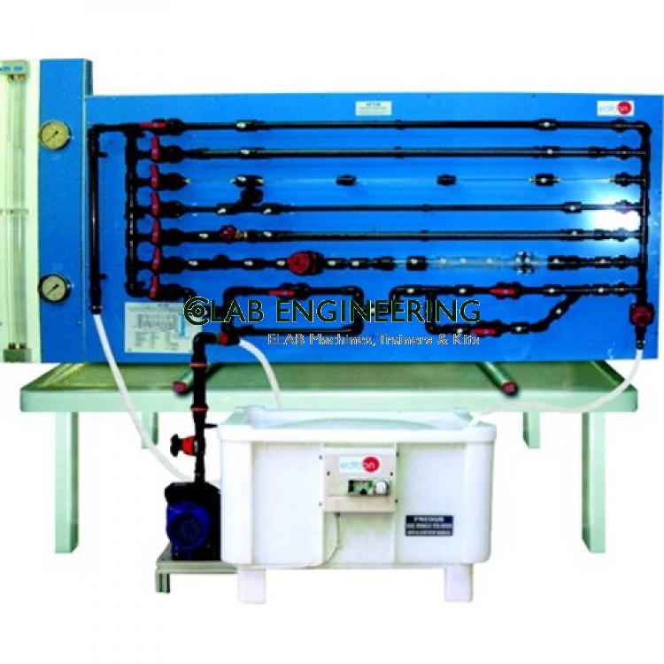 Fluid Friction In Pipes, With Basic Hydraulic Feed System
