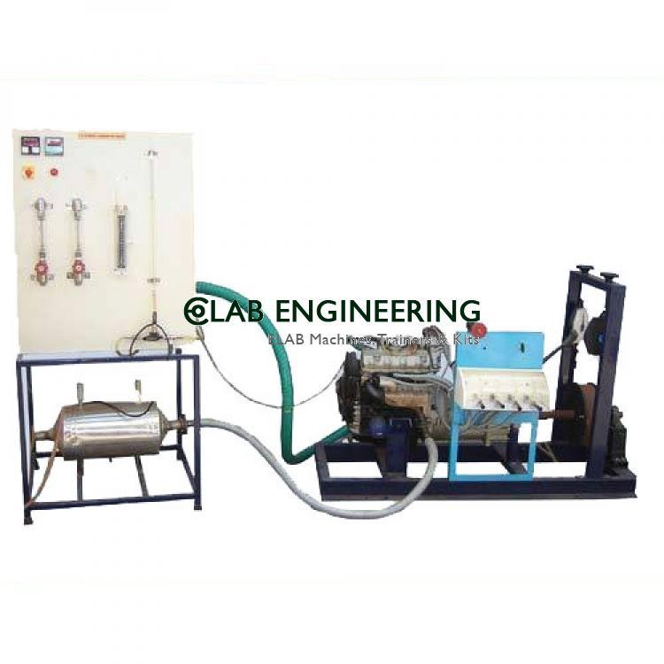 Four Stroke Four Cylinder Petrol Engine Test Rig with Morse Test - IC Engine Lab