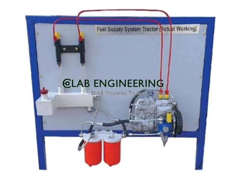 Fuel Supply System Of 6 Cylinder In Line Diesel Engine:(Test Rig)