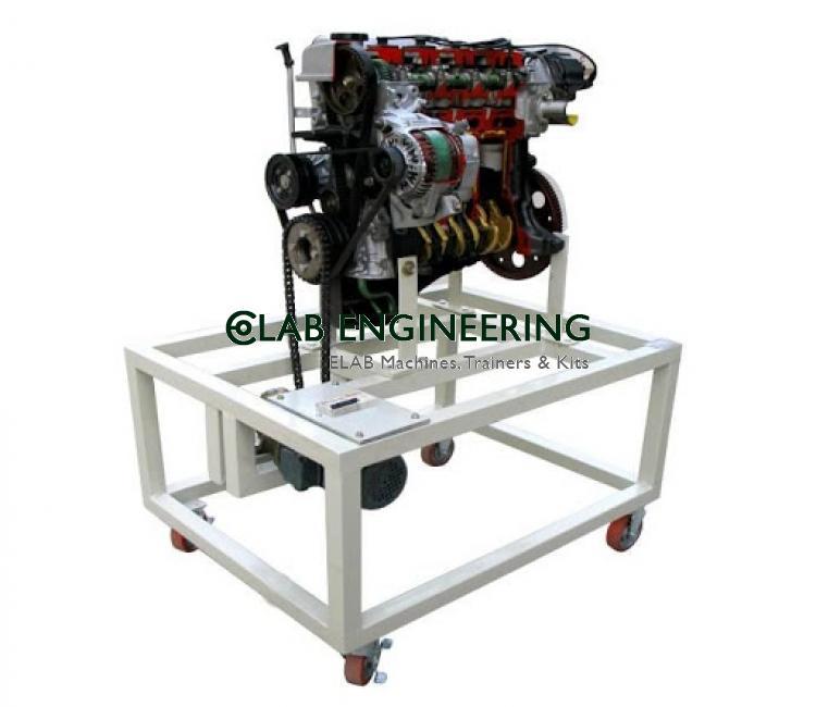 Gasoline Engine Dissection Stand (Toyota Carola)