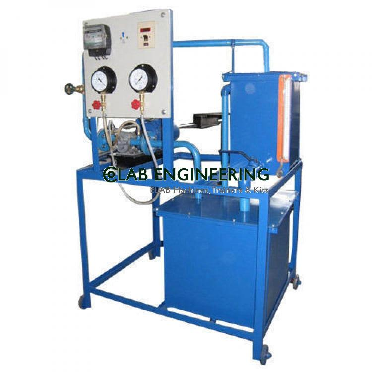 Gear pump test rig / oil pump test rig (A.C motor)