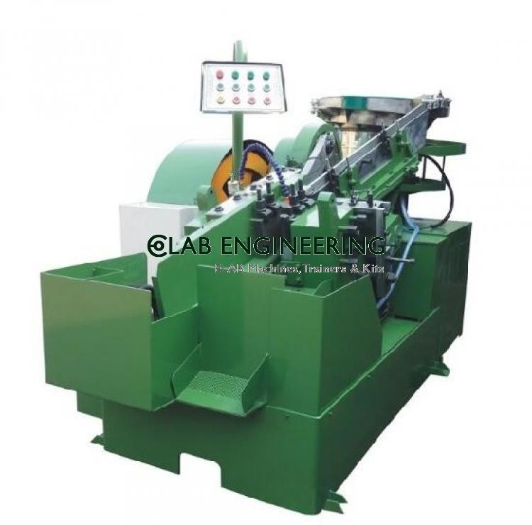 Heavy Duty Bolt Threading Machine