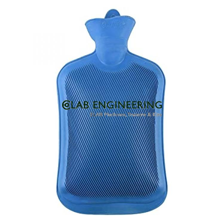 Hot Water Bottle One Side Ribbed