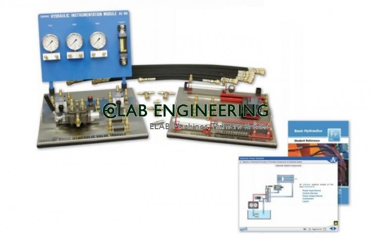 Hydraulic Element Disassembly Integration Trainer AUTOMATION MACHINES LAB