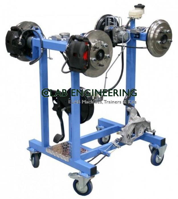 Hydraullic Brake Unit with Four Brake Drum