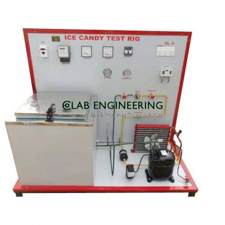 ICE PLANT TEST RIG 24 KG PER DAY