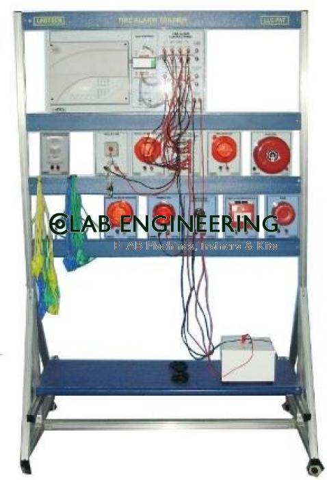 Intelligent building anti-theft alarm system training Equipment