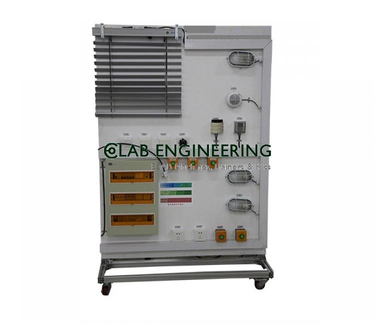 Intelligent building equipment monitoring system trainer