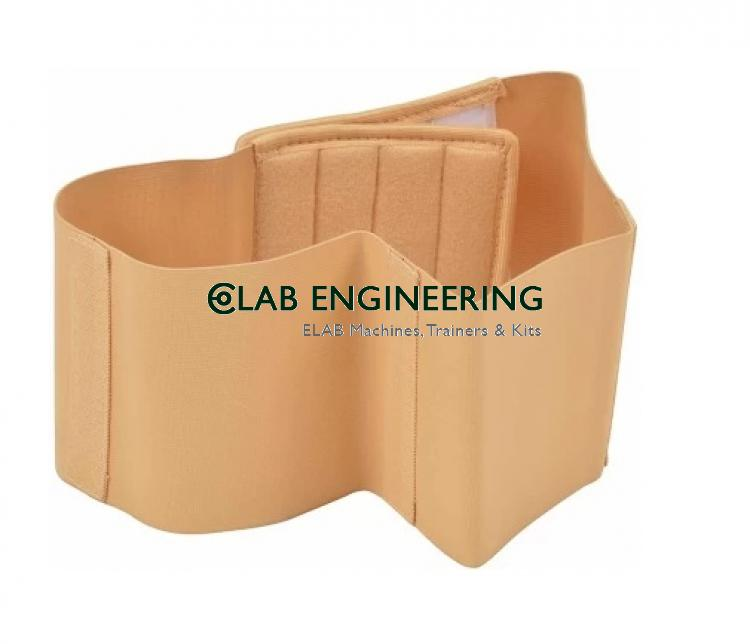 Lower Rib Support with Removable Splints