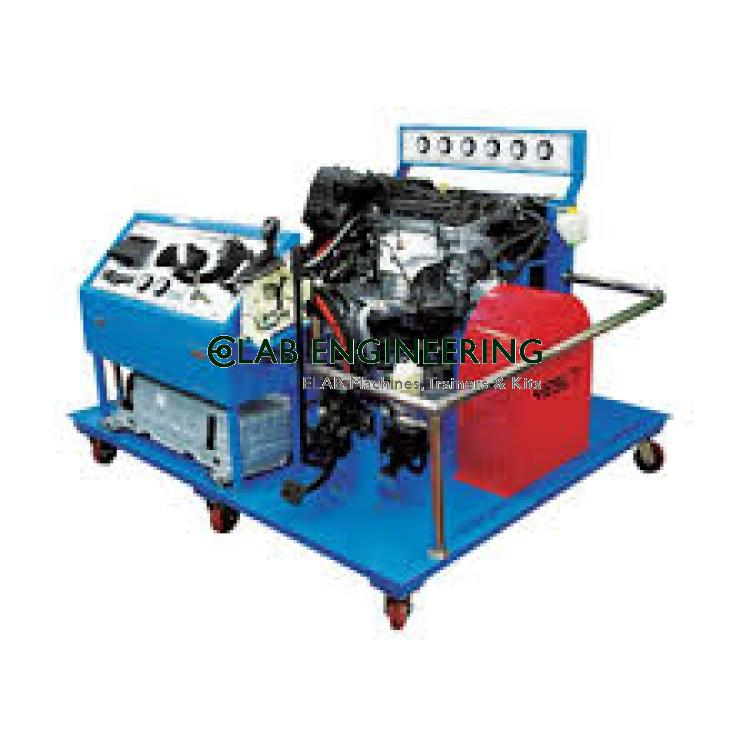 Oil-Electric Hybrid System Engine Training and Testing Equipment
