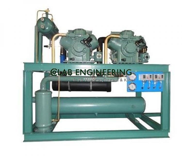 Open Type Compressor Assemble & Disassemble