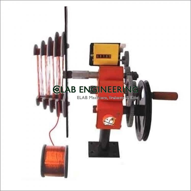 Orange And Black 1 Hp Motor Coil Winding Machine