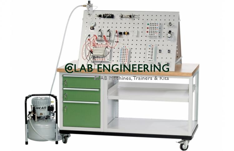 PLC Control Hydraulic & Pneumatic Training System Integration Trainer AUTOMATION MACHINES LAB