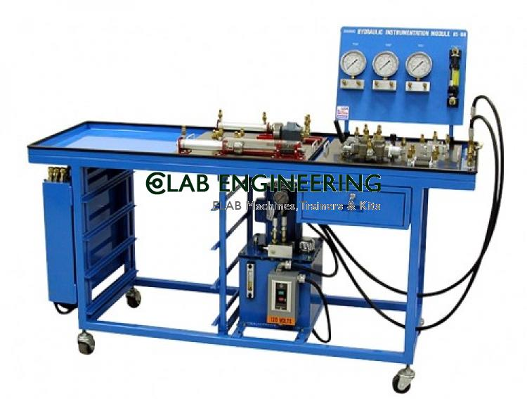 PLC Control Hydraulic Training Equipment(Single Side) AUTOMATION MACHINES LAB