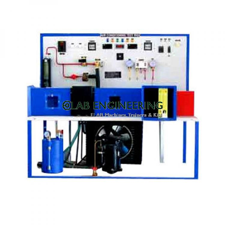 RE-CIRCULATION TYPE AIR CONDITIONING TEST RIG