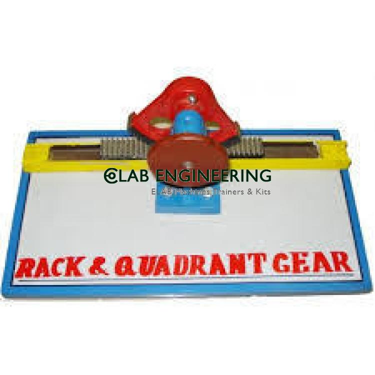 Rack and Quadrant Gears