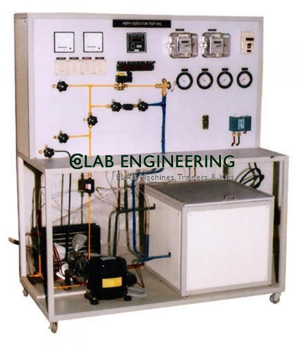 Refrigerant qualification test-unit