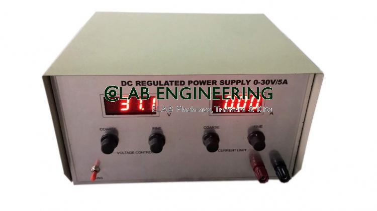 Regulated Digital Panel Variable Power Supply
