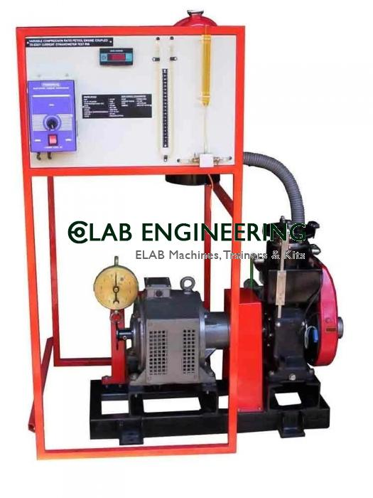Single Cylinder Engine w. Variable Compression