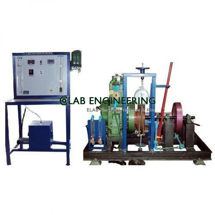 Single Cylinder Four Stroke Diesel Engine Test Rig - IC Engine Lab
