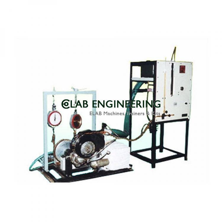 Single Cylinder Four Stroke Petrol Engine Test Rig - IC Engine Lab