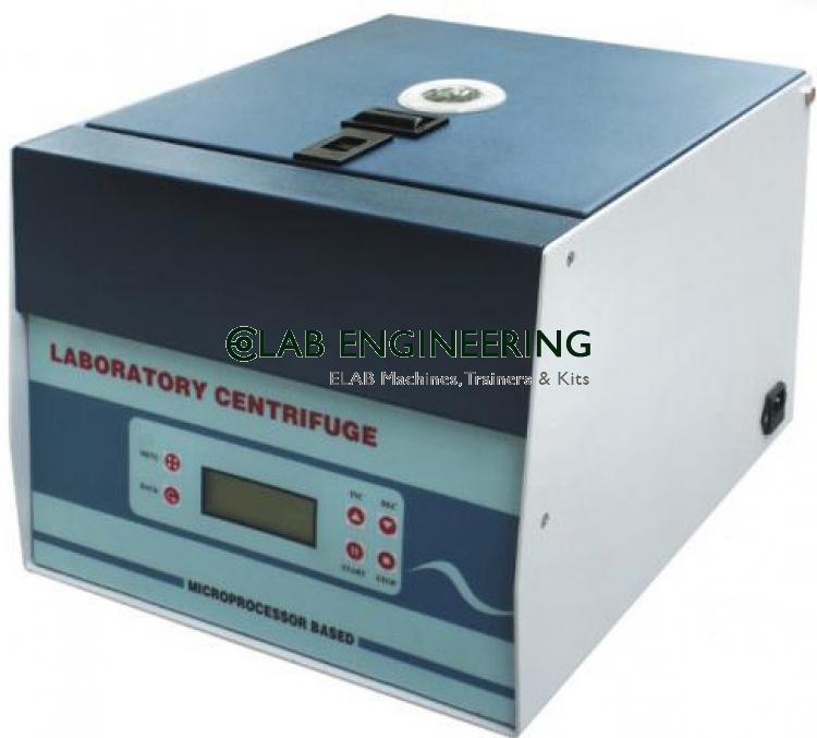 Table Top Centrifuge Machine High Speed 20000 r.p.m.