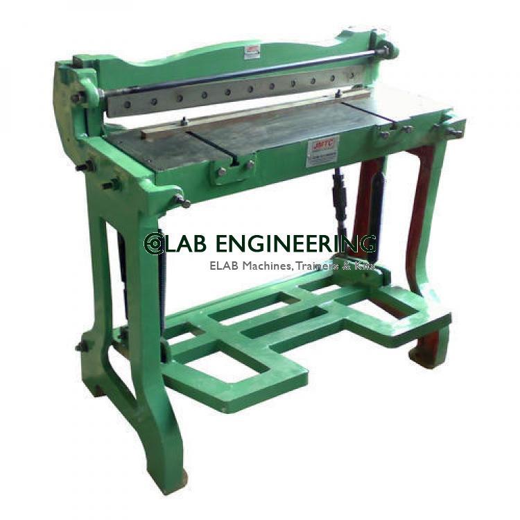 Threadle Shearing Machine- Manual Foot Operated