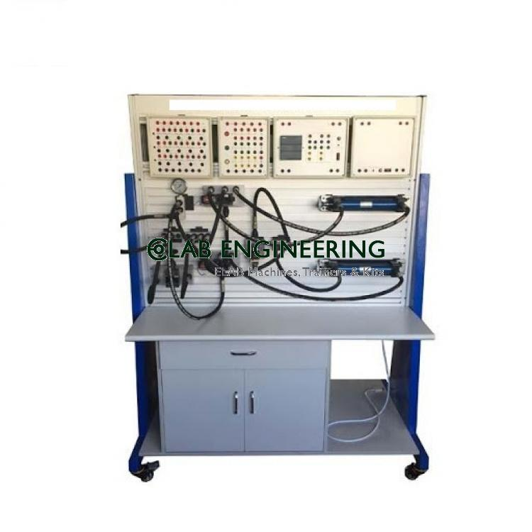 Training Equipment for PLC Controller Hydraulic Transmission AUTOMATION MACHINES LAB