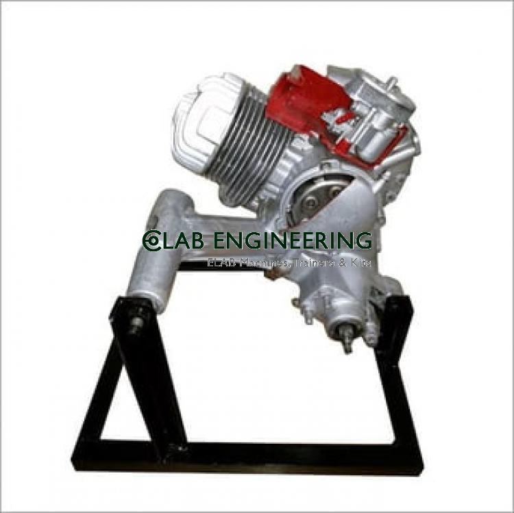 Two Strokes Scooter Engine