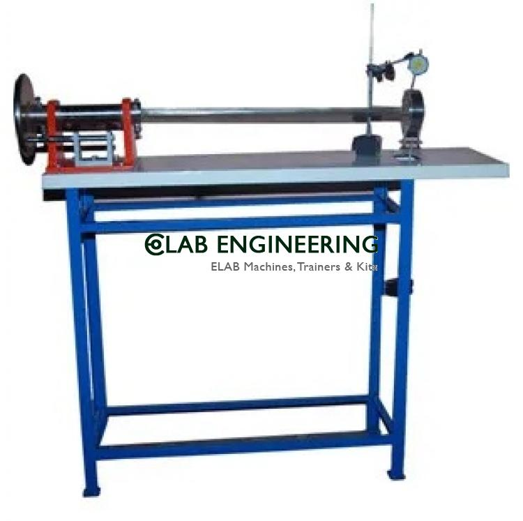 Unsmatrical bending apparatus