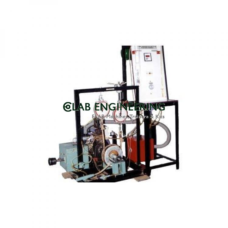 Variable Compression Ratio Petrol / Diesel Engine Test Rig - IC Engine Lab