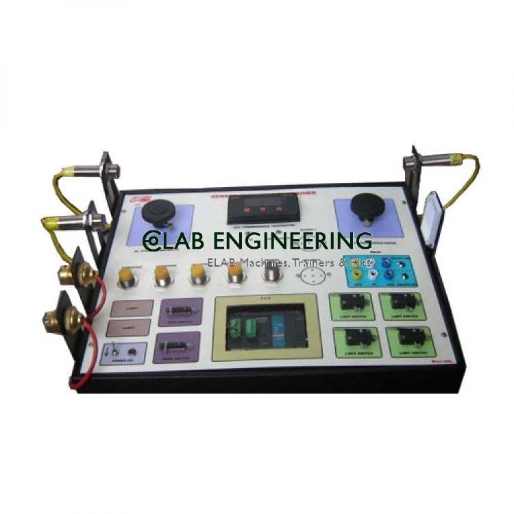 Vibration Sensor And Air Flow Sensor Experiment Panel