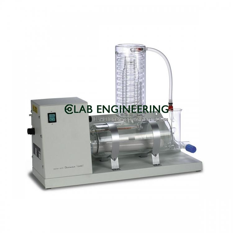 WATER STILL WITH SHEATHED SILICA HEATER