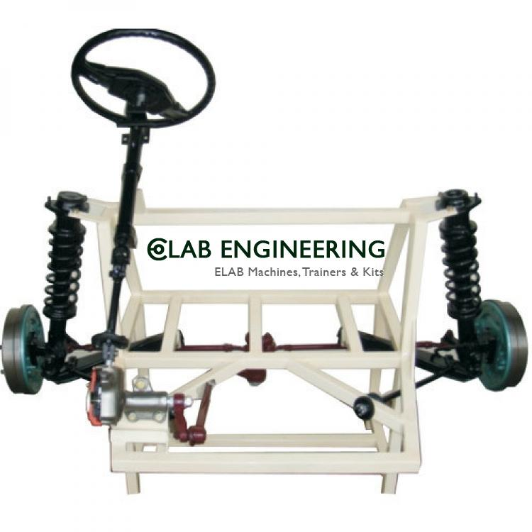Working Model of Tractors Steering