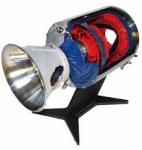 Cutaway Model Standard Venturi Meter