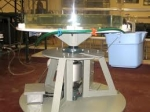 Rotating Tank Vortex Apparatus
