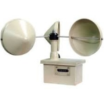 Robinson's Cup Anemometer (With Flash Light Unit)