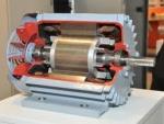 Cutaway Model Electromagnetic Multiple Disc Brake