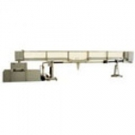 Tilting Flow Channel, 150 mm. wide, Adjustable bed.