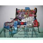 4 stroke 4 cylinder Diesel Engine (motor driven)