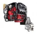 4 stroke 4 cylinder Petrol Engine (motor driven)