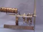 Model of Uniflow Steam Engine
