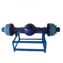Cut section model of semi floating deferential And wheel mechanism (working)