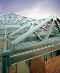 Model of Steel Roof Truss