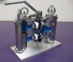 Cutaway Model Strainer