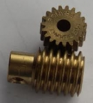 Worm and Worm Wheel (80 teeth cut worm gear)