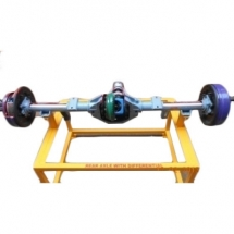 Cut section model of fully floating differential And rear wheel mechanism (working)