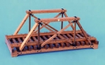 Queen Post Truss Model